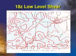 18z low level shear