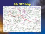 20z sfc map