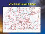 21z low level shear