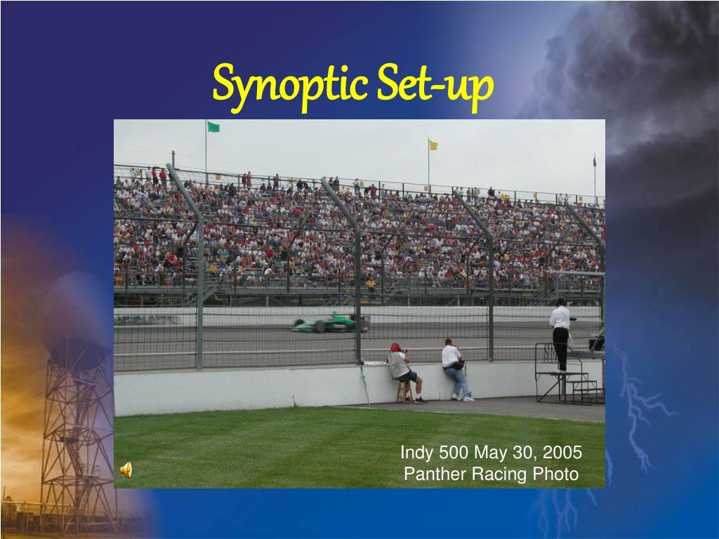 Synoptic Set-up