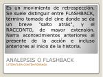 analepsis o flashback