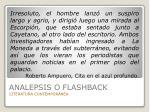 analepsis o flashback46