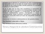 temas y rasgos de la literatura contempor nea2