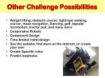 other challenge possibilities