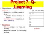 project 7 q learning
