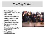 the tug o war