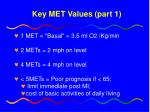 key met values part 1