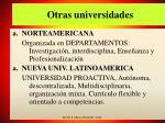 otras universidades
