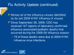 flu activity update continued12