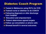 diabetes coach program