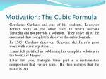 motivation the cubic formula8