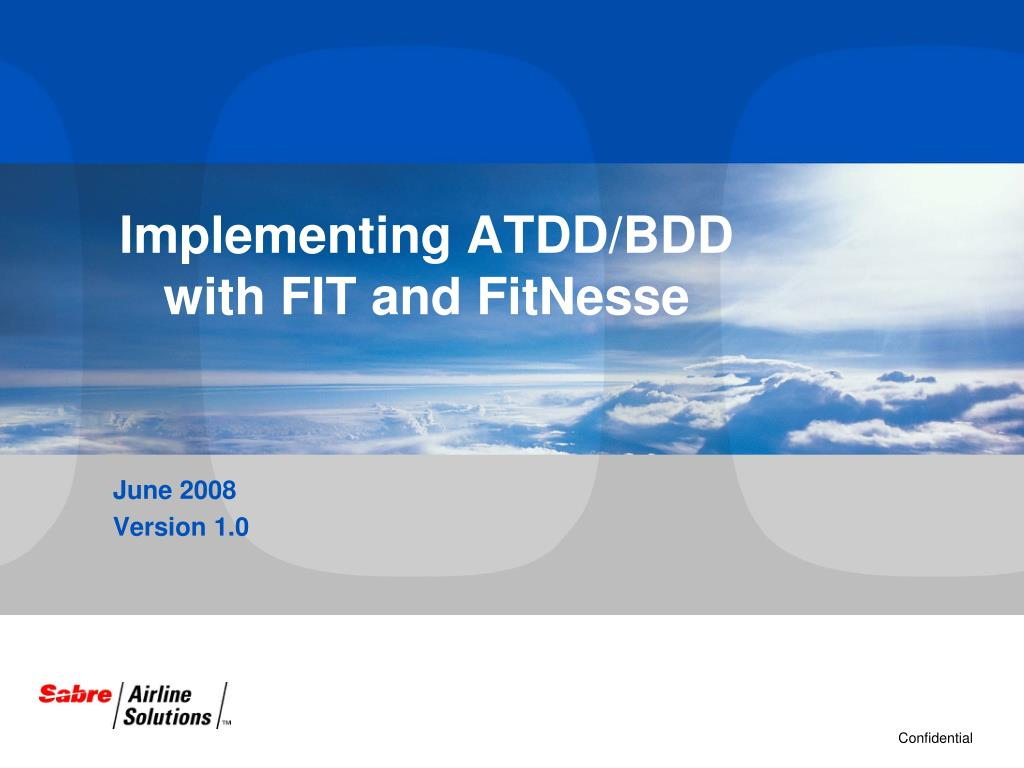 implementing atdd bdd with fit and fitnesse l.