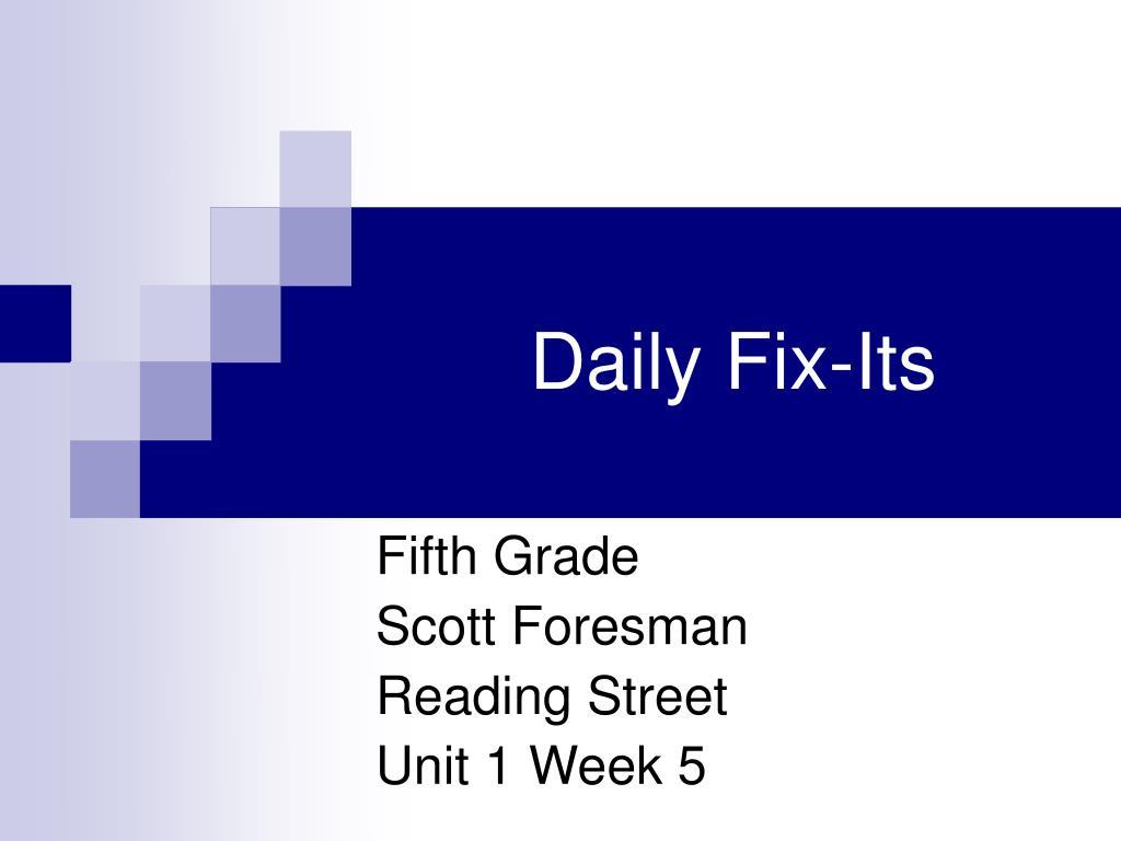 daily fix its l.