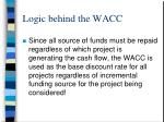logic behind the wacc4