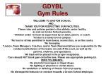 gdybl gym rules15