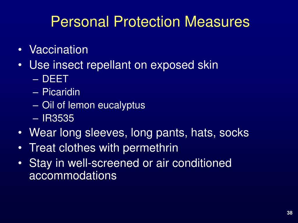 Personal Protection Measures