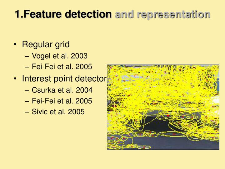 1.Feature detection