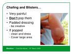 chafing and blisters8