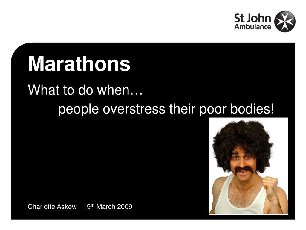 marathons l.