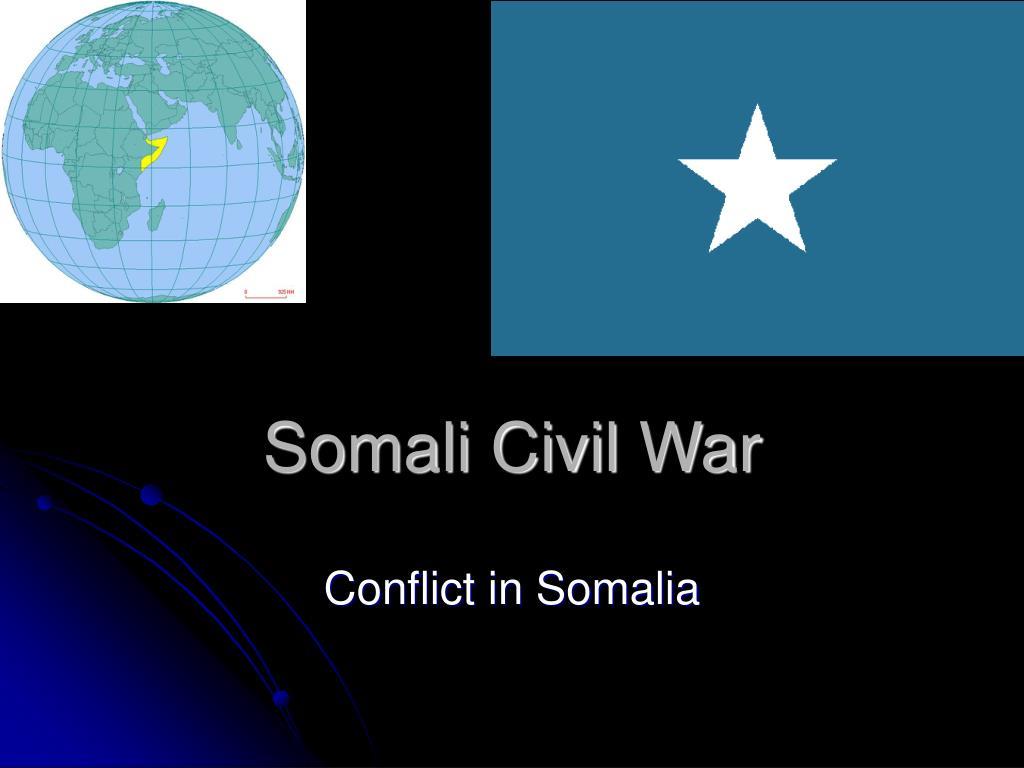 somali civil war l.