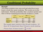 conditional probability13