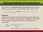distinguishable permutations