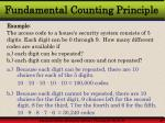 fundamental counting principle27
