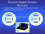decision support systems overview15