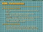 kqml performativas