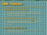 kqml problemas