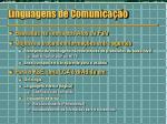 linguagens de comunica o
