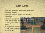diet cont