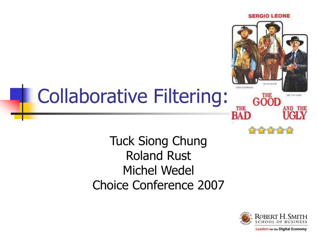 collaborative filtering l.