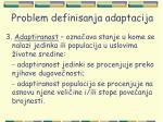 problem definisanja adaptacija16