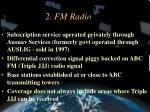 2 fm radio