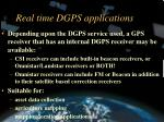 real time dgps applications22