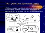 pact palo alto collaboration testbed