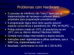 problemas com hardware