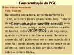 conscientiza o do pgl