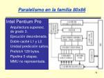 paralelismo en la familia 80x8678