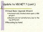 update to vb net cont18