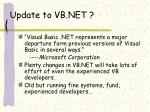 update to vb net