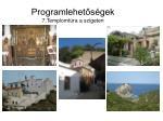 programlehet s gek 7 templomt ra a szigeten