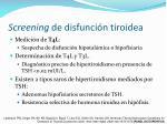 screening de disfunci n tiroidea67