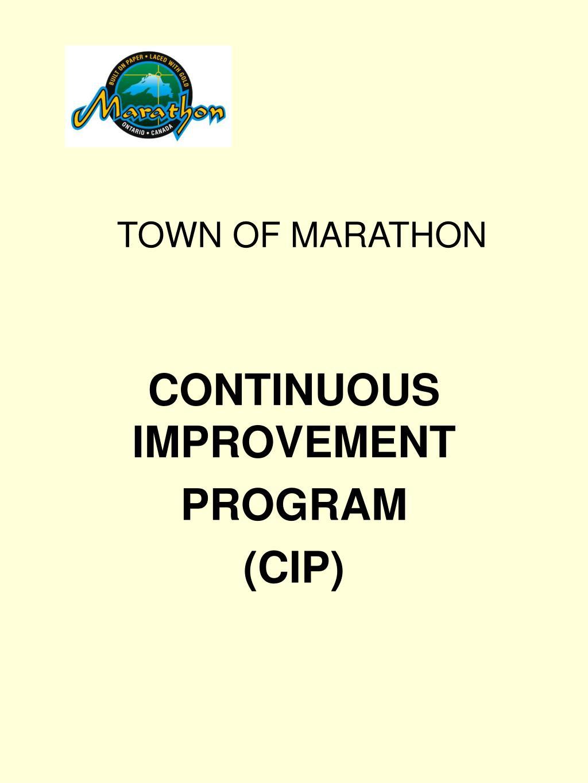 town of marathon l.