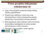 vietos projekto tinkamumo reikalavimai 6