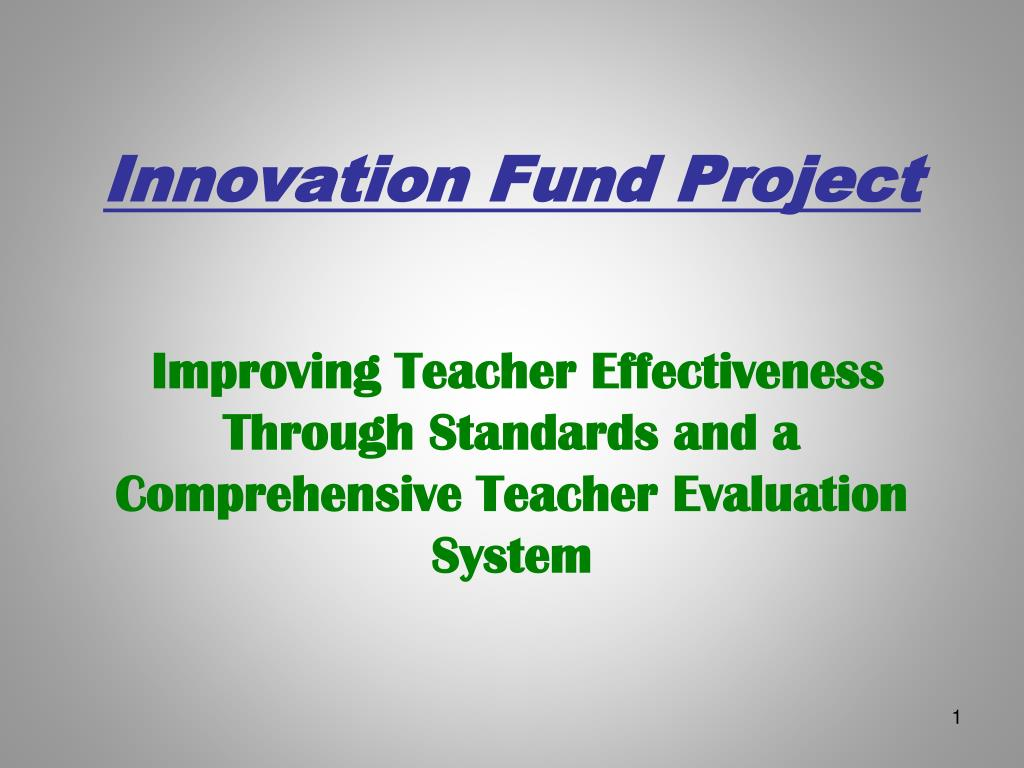 innovation fund project l.