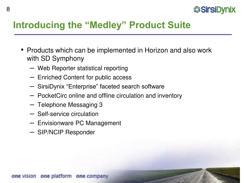 "Introducing the ""Medley"" Product Suite"