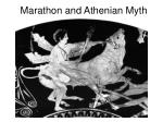 marathon and athenian myth
