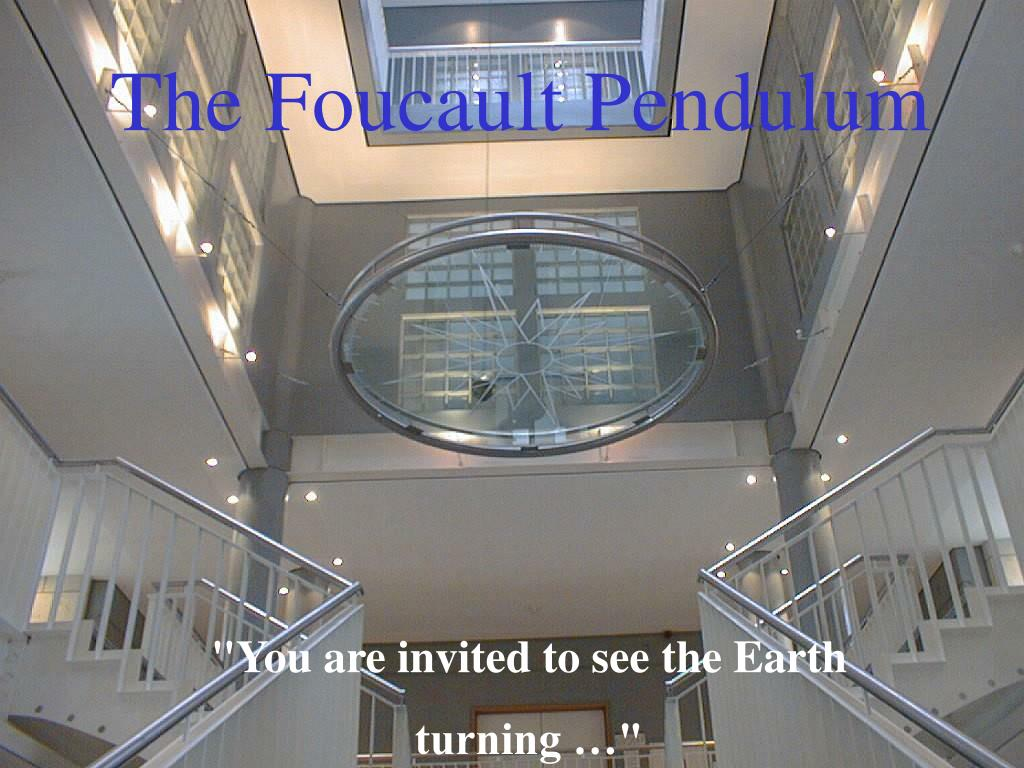 the foucault pendulum l.